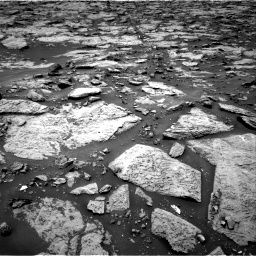 Nasa's Mars rover Curiosity acquired this image using its Right Navigation Camera on Sol 1438, at drive 744, site number 57