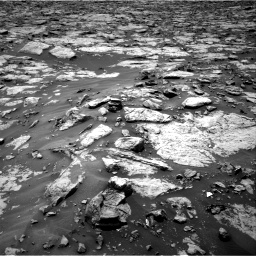 Nasa's Mars rover Curiosity acquired this image using its Right Navigation Camera on Sol 1438, at drive 756, site number 57