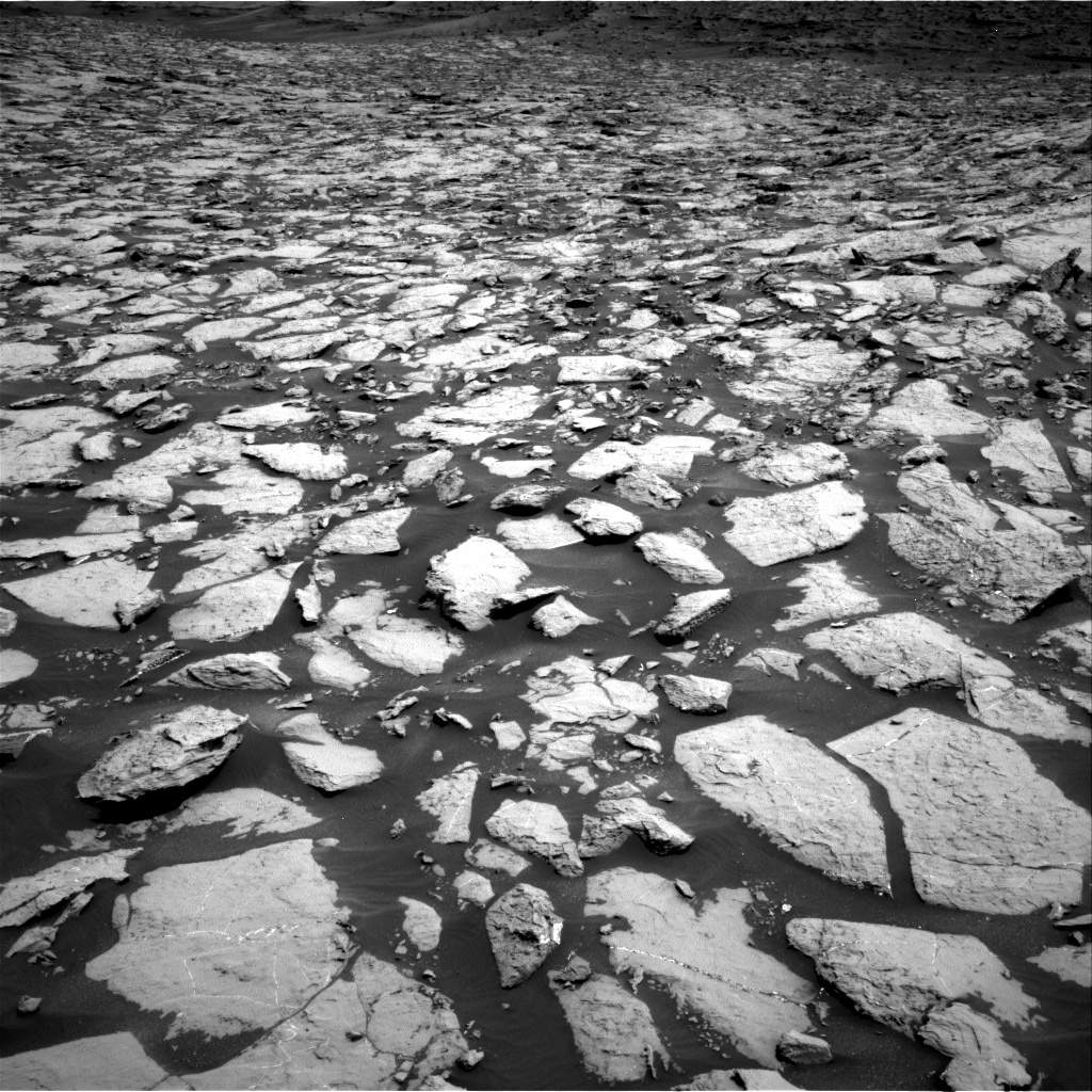 Nasa's Mars rover Curiosity acquired this image using its Right Navigation Camera on Sol 1438, at drive 774, site number 57