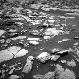 Nasa's Mars rover Curiosity acquired this image using its Left Navigation Camera on Sol 1439, at drive 780, site number 57