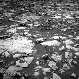 Nasa's Mars rover Curiosity acquired this image using its Left Navigation Camera on Sol 1439, at drive 810, site number 57