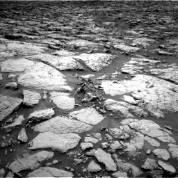 NASA's Mars rover Curiosity acquired this image using its Left Navigation Camera (Navcams) on Sol 1439