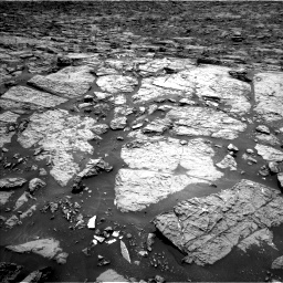 Nasa's Mars rover Curiosity acquired this image using its Left Navigation Camera on Sol 1439, at drive 888, site number 57