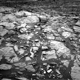 Nasa's Mars rover Curiosity acquired this image using its Left Navigation Camera on Sol 1439, at drive 912, site number 57