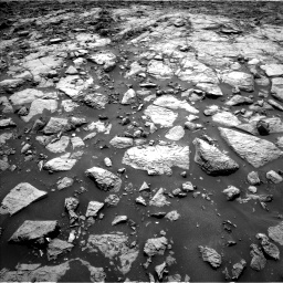 Nasa's Mars rover Curiosity acquired this image using its Left Navigation Camera on Sol 1439, at drive 936, site number 57