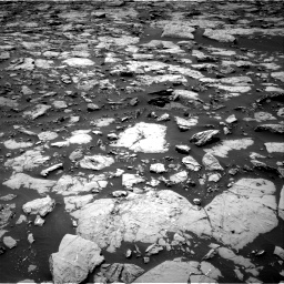 Nasa's Mars rover Curiosity acquired this image using its Right Navigation Camera on Sol 1439, at drive 798, site number 57