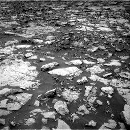 Nasa's Mars rover Curiosity acquired this image using its Right Navigation Camera on Sol 1439, at drive 810, site number 57