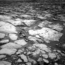 Nasa's Mars rover Curiosity acquired this image using its Right Navigation Camera on Sol 1439, at drive 834, site number 57
