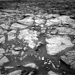Nasa's Mars rover Curiosity acquired this image using its Right Navigation Camera on Sol 1439, at drive 894, site number 57