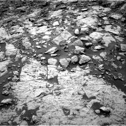 Nasa's Mars rover Curiosity acquired this image using its Right Navigation Camera on Sol 1439, at drive 954, site number 57