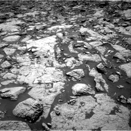 Nasa's Mars rover Curiosity acquired this image using its Right Navigation Camera on Sol 1439, at drive 972, site number 57
