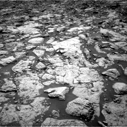 Nasa's Mars rover Curiosity acquired this image using its Right Navigation Camera on Sol 1439, at drive 984, site number 57