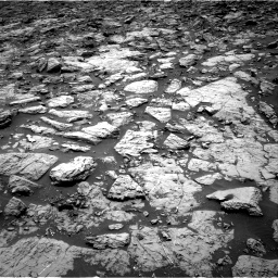 Nasa's Mars rover Curiosity acquired this image using its Right Navigation Camera on Sol 1439, at drive 990, site number 57