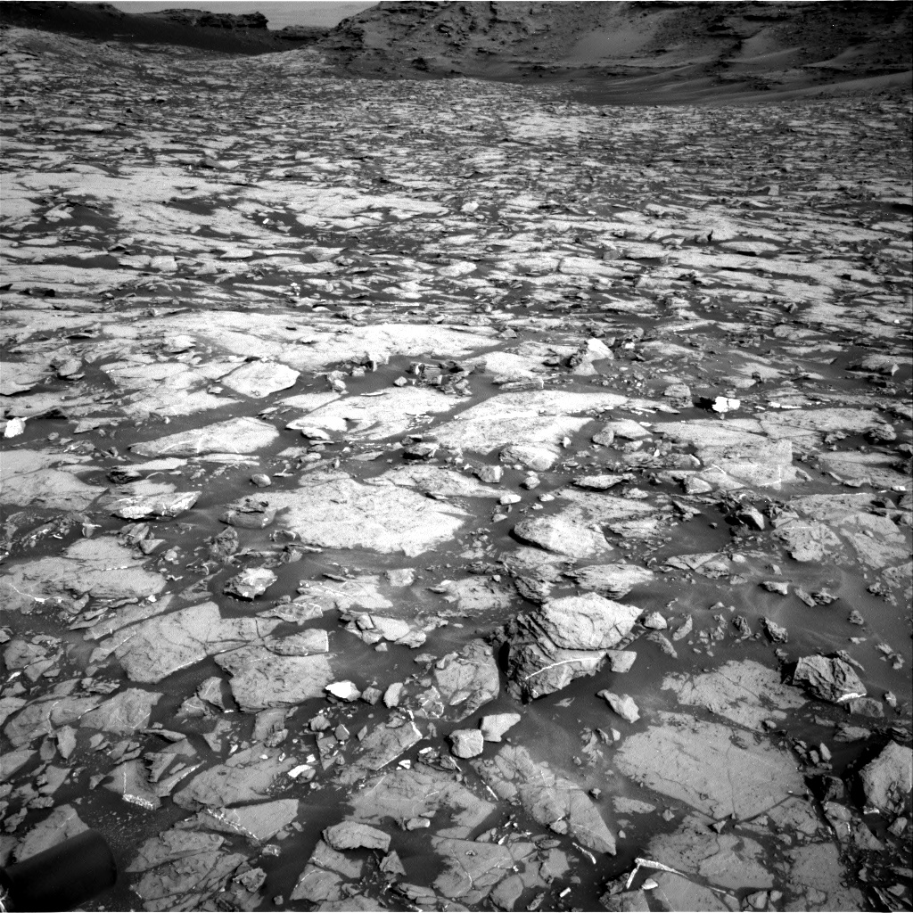 Nasa's Mars rover Curiosity acquired this image using its Right Navigation Camera on Sol 1439, at drive 1020, site number 57