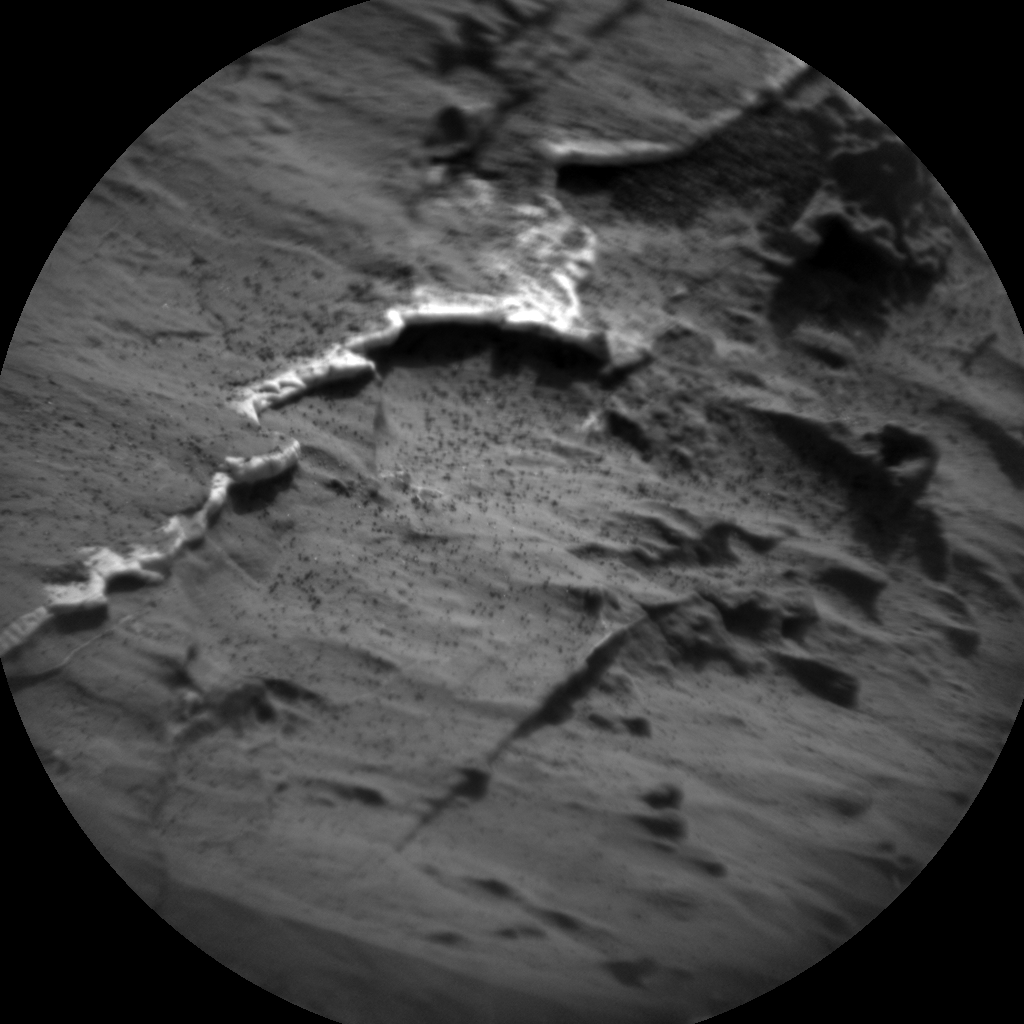 Nasa's Mars rover Curiosity acquired this image using its Chemistry & Camera (ChemCam) on Sol 1439, at drive 1020, site number 57