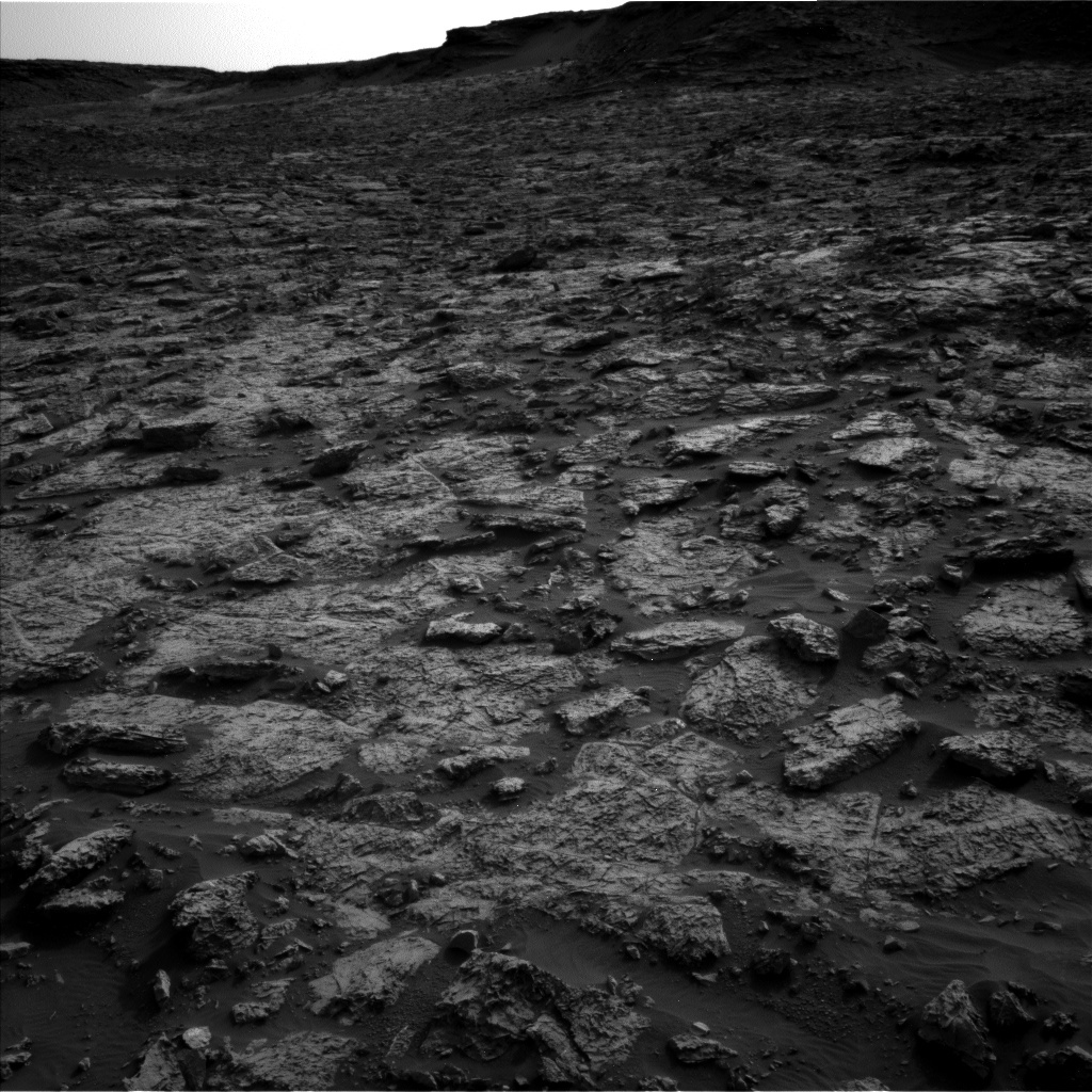 NASA's Mars rover Curiosity acquired this image using its Left Navigation Camera (Navcams) on Sol 1441