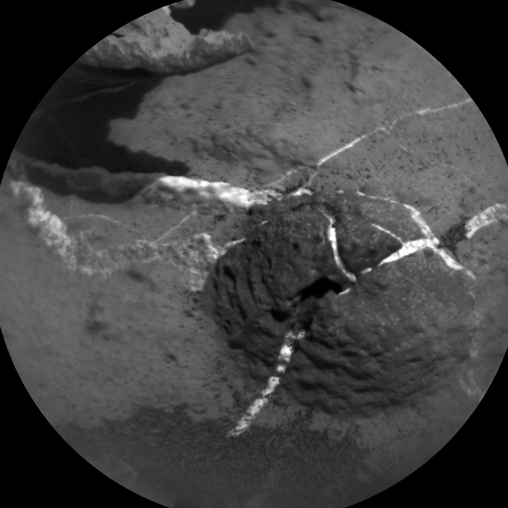 Nasa's Mars rover Curiosity acquired this image using its Chemistry & Camera (ChemCam) on Sol 1443, at drive 1020, site number 57