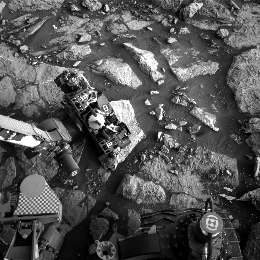 Nasa's Mars rover Curiosity acquired this image using its Right Navigation Camera on Sol 1444, at drive 1020, site number 57