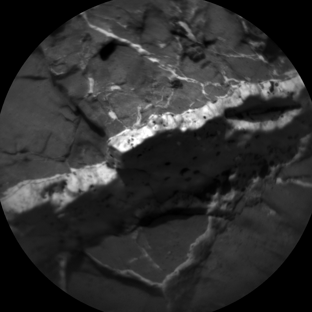 Nasa's Mars rover Curiosity acquired this image using its Chemistry & Camera (ChemCam) on Sol 1444, at drive 1020, site number 57