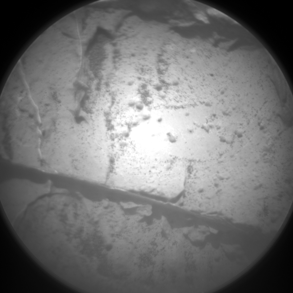 Nasa's Mars rover Curiosity acquired this image using its Chemistry & Camera (ChemCam) on Sol 1445, at drive 1020, site number 57