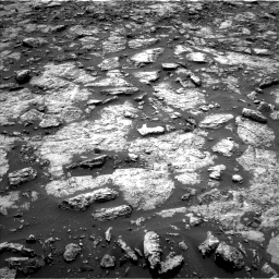 Nasa's Mars rover Curiosity acquired this image using its Left Navigation Camera on Sol 1446, at drive 1044, site number 57