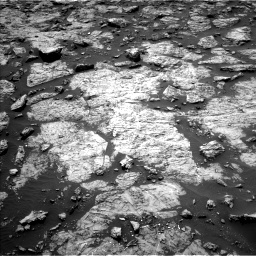 Nasa's Mars rover Curiosity acquired this image using its Left Navigation Camera on Sol 1446, at drive 1056, site number 57