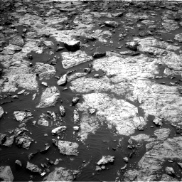Nasa's Mars rover Curiosity acquired this image using its Left Navigation Camera on Sol 1446, at drive 1062, site number 57