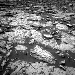 Nasa's Mars rover Curiosity acquired this image using its Left Navigation Camera on Sol 1446, at drive 1104, site number 57