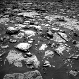 Nasa's Mars rover Curiosity acquired this image using its Left Navigation Camera on Sol 1446, at drive 1128, site number 57