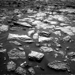 Nasa's Mars rover Curiosity acquired this image using its Left Navigation Camera on Sol 1446, at drive 1158, site number 57