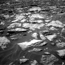 Nasa's Mars rover Curiosity acquired this image using its Left Navigation Camera on Sol 1446, at drive 1188, site number 57