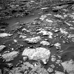 Nasa's Mars rover Curiosity acquired this image using its Left Navigation Camera on Sol 1446, at drive 1212, site number 57