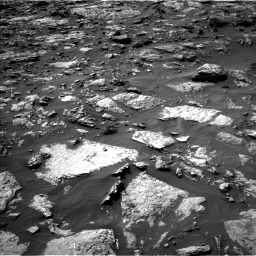 Nasa's Mars rover Curiosity acquired this image using its Left Navigation Camera on Sol 1446, at drive 1242, site number 57