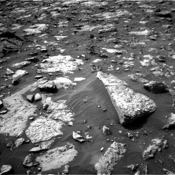 Nasa's Mars rover Curiosity acquired this image using its Left Navigation Camera on Sol 1446, at drive 1260, site number 57