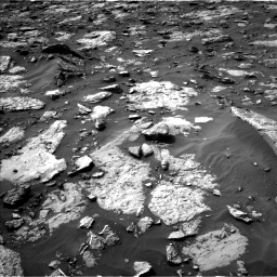 Nasa's Mars rover Curiosity acquired this image using its Left Navigation Camera on Sol 1446, at drive 1266, site number 57