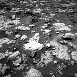 Nasa's Mars rover Curiosity acquired this image using its Left Navigation Camera on Sol 1446, at drive 1272, site number 57