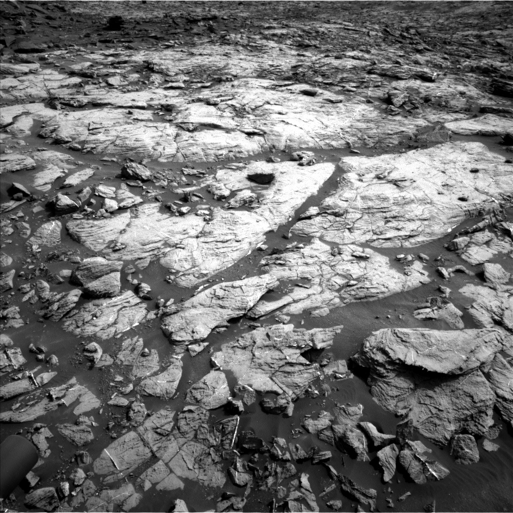 Nasa's Mars rover Curiosity acquired this image using its Left Navigation Camera on Sol 1446, at drive 1356, site number 57
