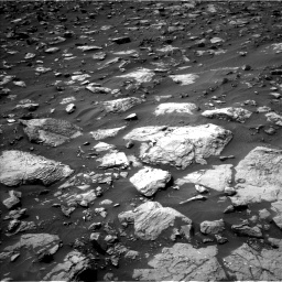 Nasa's Mars rover Curiosity acquired this image using its Left Navigation Camera on Sol 1446, at drive 1368, site number 57