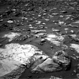 Nasa's Mars rover Curiosity acquired this image using its Left Navigation Camera on Sol 1446, at drive 1386, site number 57