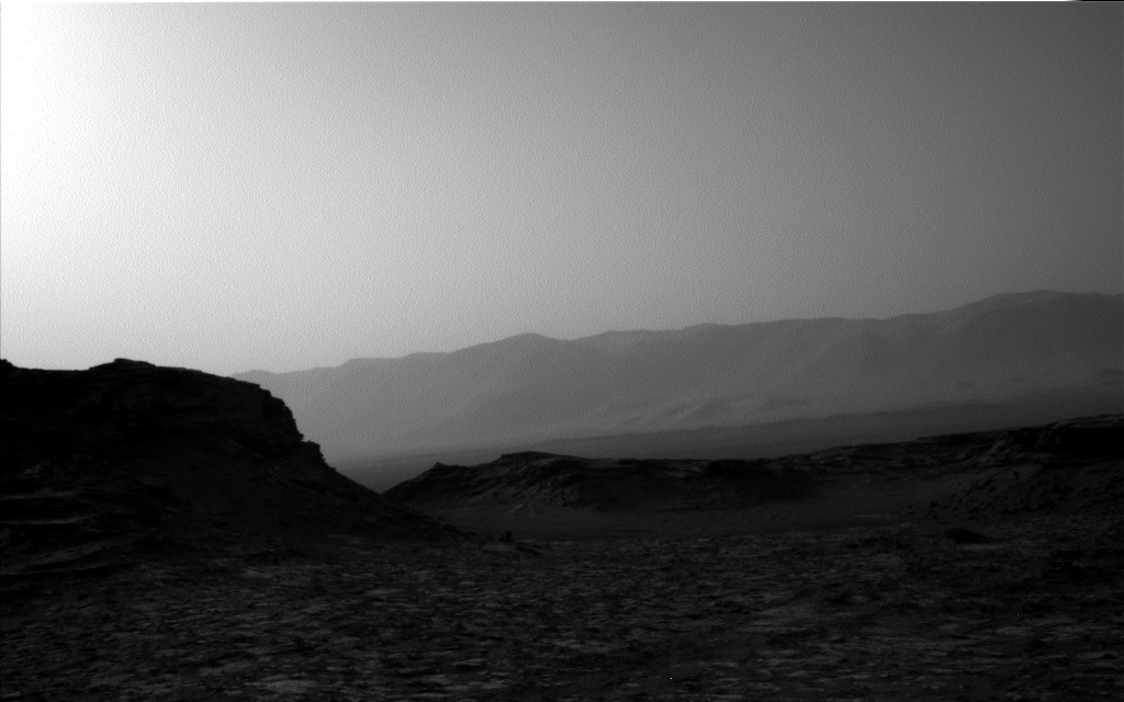 Nasa's Mars rover Curiosity acquired this image using its Left Navigation Camera on Sol 1446, at drive 1392, site number 57