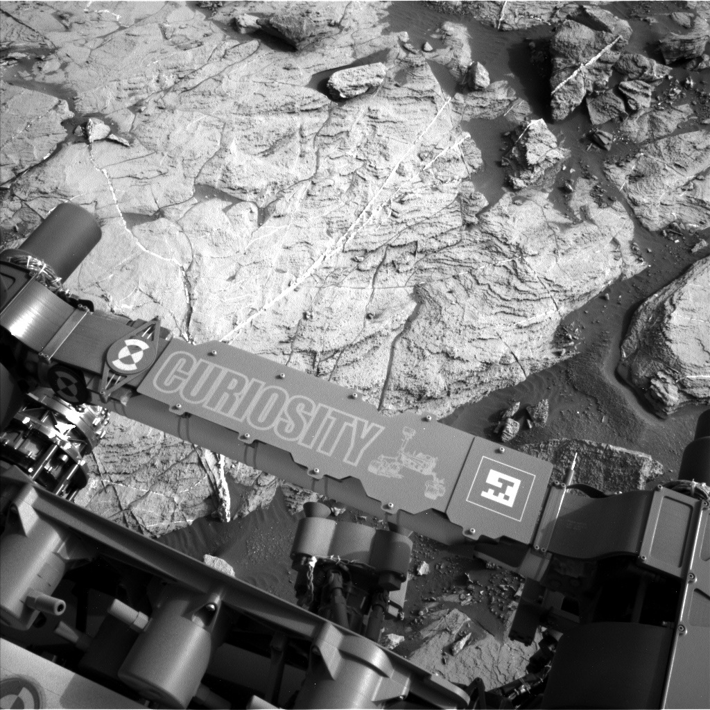NASA's Mars rover Curiosity acquired this image using its Left Navigation Camera (Navcams) on Sol 1446