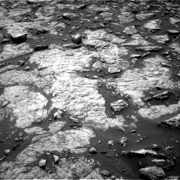 Nasa's Mars rover Curiosity acquired this image using its Right Navigation Camera on Sol 1446, at drive 1056, site number 57