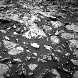 Nasa's Mars rover Curiosity acquired this image using its Right Navigation Camera on Sol 1446, at drive 1074, site number 57