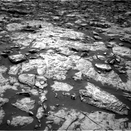 Nasa's Mars rover Curiosity acquired this image using its Right Navigation Camera on Sol 1446, at drive 1110, site number 57