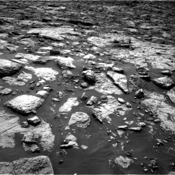 Nasa's Mars rover Curiosity acquired this image using its Right Navigation Camera on Sol 1446, at drive 1128, site number 57