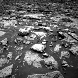 Nasa's Mars rover Curiosity acquired this image using its Right Navigation Camera on Sol 1446, at drive 1134, site number 57