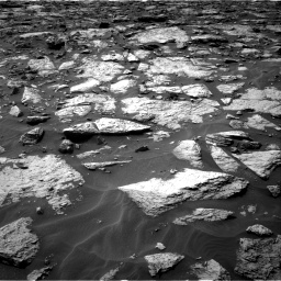 Nasa's Mars rover Curiosity acquired this image using its Right Navigation Camera on Sol 1446, at drive 1194, site number 57