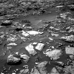 Nasa's Mars rover Curiosity acquired this image using its Right Navigation Camera on Sol 1446, at drive 1224, site number 57