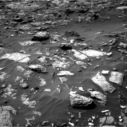 Nasa's Mars rover Curiosity acquired this image using its Right Navigation Camera on Sol 1446, at drive 1230, site number 57