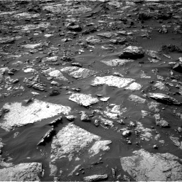 Nasa's Mars rover Curiosity acquired this image using its Right Navigation Camera on Sol 1446, at drive 1242, site number 57
